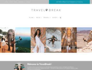 travelbreak.net screenshot