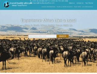 travelbuddyafrica.com screenshot