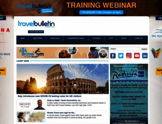 travelbulletin.co.uk screenshot