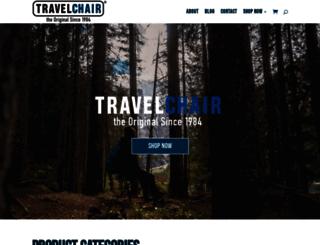 travelchair.com screenshot