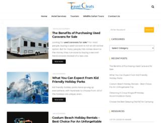 travelcleats.com screenshot