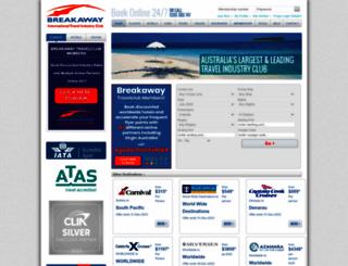 travelclub.com.au screenshot