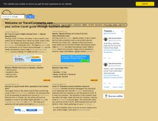 travelcomments.com screenshot