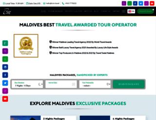 travelconnectionmaldives.com screenshot