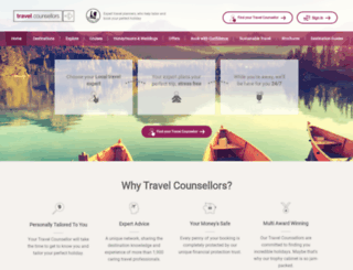 travelcounsellors.co.uk screenshot