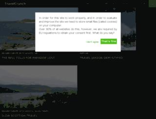 travelcrunch.co.uk screenshot