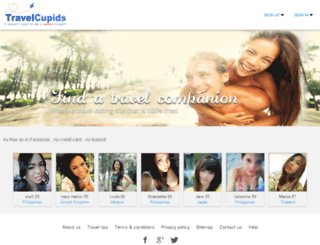travelcupids.com screenshot