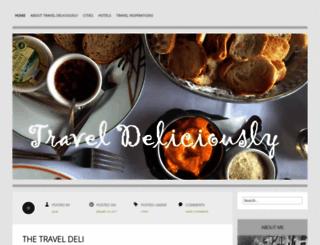 traveldeliciously.wordpress.com screenshot