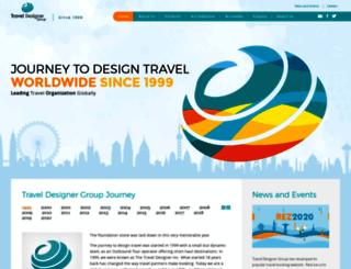 traveldesignergroup.com screenshot