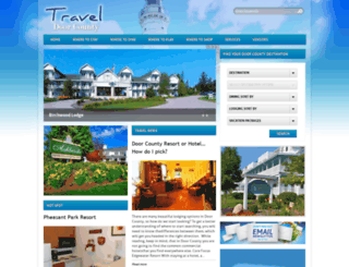 traveldoorcounty.com screenshot