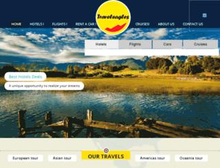 traveleagles.com screenshot