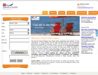 travelepoint.net.in screenshot