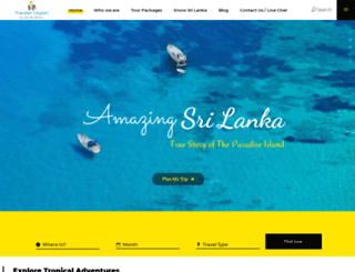travelerceylon.com screenshot