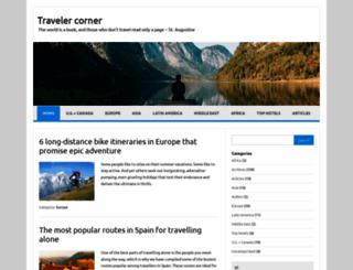 travelercorner.com screenshot