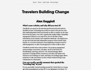 travelersbuildingchange.org screenshot