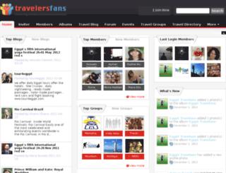 travelersfans.com screenshot