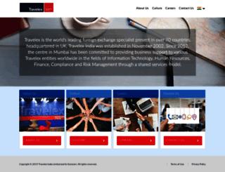 travelex.co.in screenshot