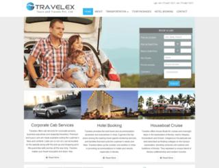 travelexlogistics.com screenshot