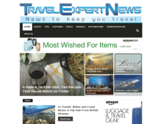travelexpertnews.com screenshot