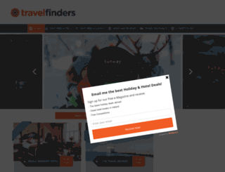 travelfinders.ie screenshot