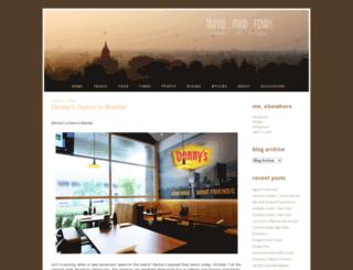 travelfoodfinds.com screenshot