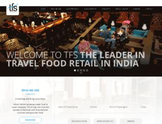 travelfoodservices.com screenshot