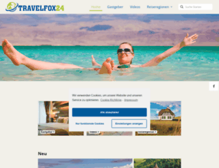 travelfox24.de screenshot