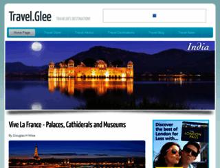 travelglee.co.uk screenshot