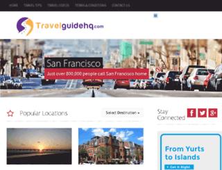 travelguidehq.com screenshot