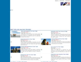 travelhalong.com screenshot