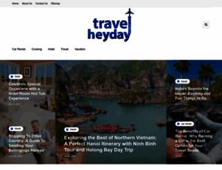 travelheyday.com screenshot
