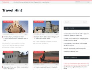 travelhint.net screenshot