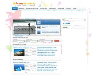 travelholiday.pl screenshot