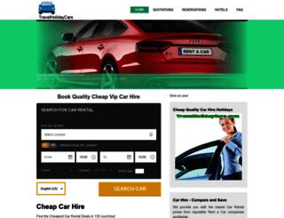 travelholidaycars.com screenshot