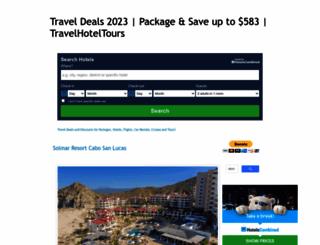 travelhoteltours.com screenshot