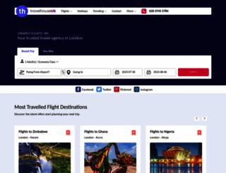 travelhouseuk.co.uk screenshot