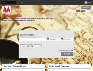 travelhub.agentstudio.com screenshot