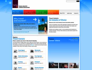 travelindustrycareers.org screenshot