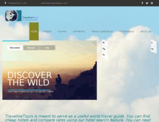 travelinetours.com screenshot
