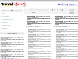 travelinfomedia.com screenshot