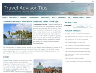travelinformation123.com screenshot