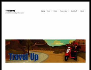 traveling-up.com screenshot