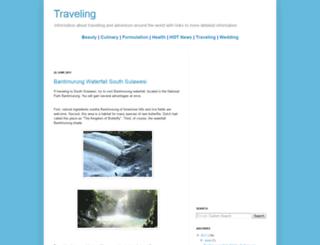 traveling.vinensia.com screenshot