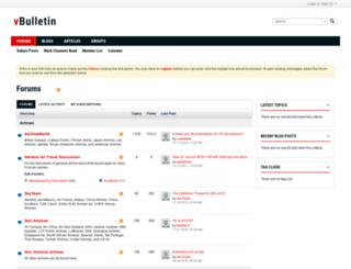 travelingbetter.vbulletin.net screenshot