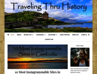 travelingthruhistory.com screenshot