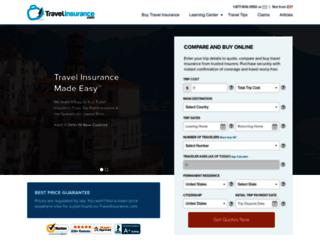 travelinsurance.com screenshot