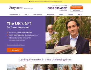 travelinsurancemedical.co.uk screenshot