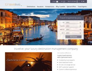 travelive.com screenshot