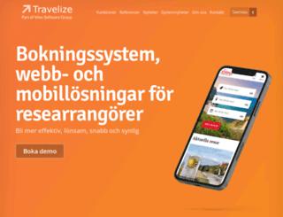 travelize.se screenshot
