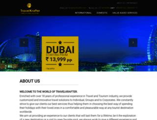 travelkrafter.com screenshot
